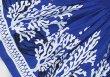画像3: 【スプリングーセール】パウスカート(珊瑚・貝/ブルー)75cm丈 (3)