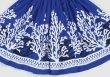 画像2: 【スプリングーセール】パウスカート(珊瑚・貝/ブルー)75cm丈 (2)