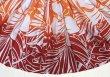 画像2: 【スプリングセール】パウスカート(ハイビスカス・モンステラ/オレンジ・レッド)75cm丈 (2)