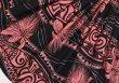 画像3: 【スプリングセール】パウスカート(レフアタパ柄ボーダー/ブラック)75cm丈 (3)